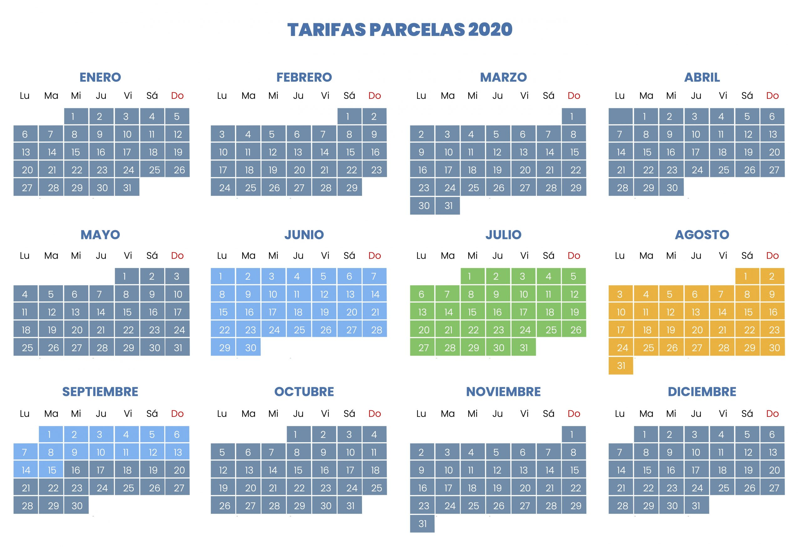 Les tarifs 1